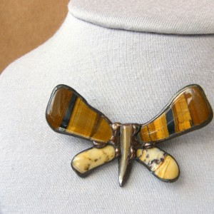 Broszka: Motyl tygrysi