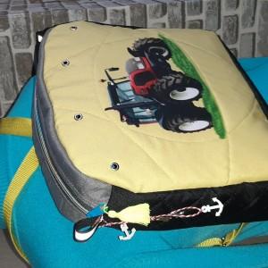 Plecak z tkaniny wodoodpornej kodura