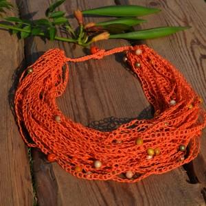 Zamotka Pomarańczowa Lniana