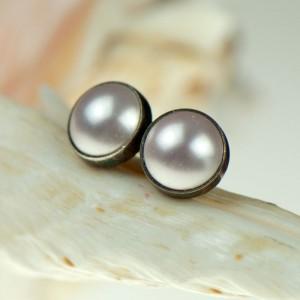 Drobinki z perłami Swarovskiego d079