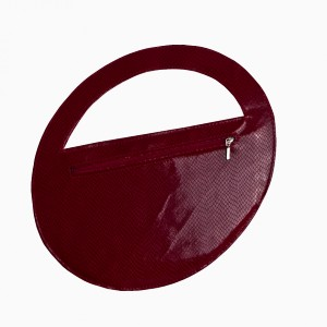 Elegancka okrągła torebka