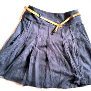 granatowa spódnica firmy promod rozmiar 38