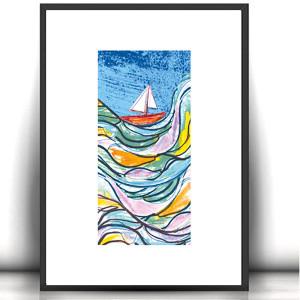 obrazek z kotem, oryginalna  grafika z kotem, kot rysunek na ścianę
