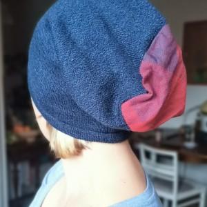 czapka damska granatowa smerfetka