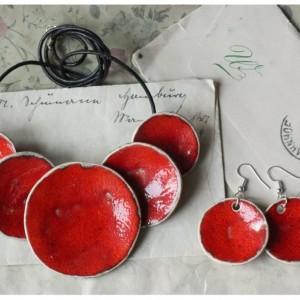 Zamówienie dla Justyny - etno wisior, kolczyki, bransoletka i pierścionek