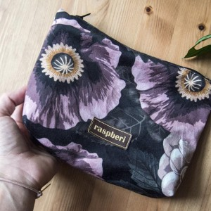 Kosmetyczka w kwiaty MAXI