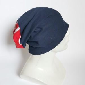 Czapka damska męska unisex granat patriotka