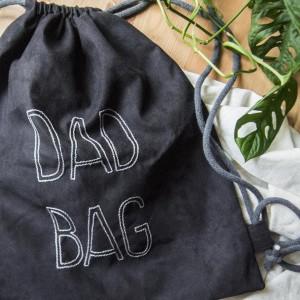 DAD BAG plecak worek XL dla taty