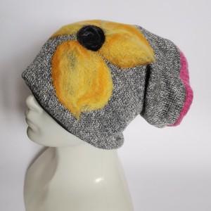 Bardzo ciepła wełniana czapka