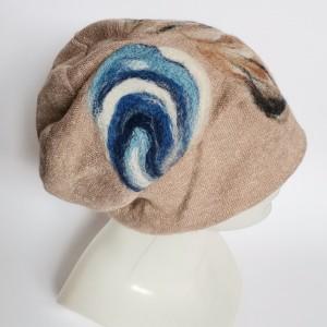 czapka welniana na podszewce