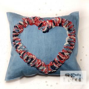 Hipsterska poduszka Forever Love 40 x 40 cm
