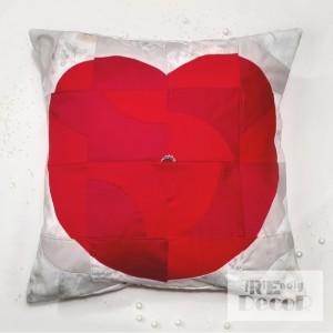 Poduszka walentynkowa zaręczynowa True Love 40 x 40 cm