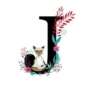 Alfabet litera I 50x70