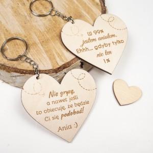Brelok - serce, walentynki, dzień kobiet