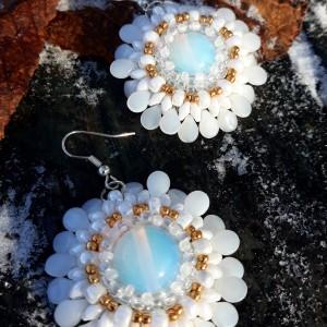 Opalowe kwiatki