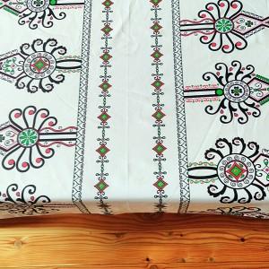 Obrus  folk góralski parzenice 150/150