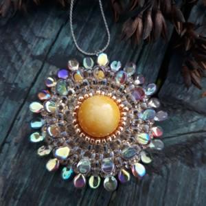 Słoneczny medalion