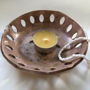 PALOLOPULI Ceramiczna miseczka z otworkami