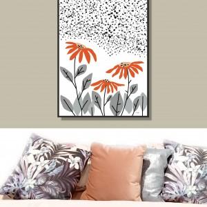 """Grafika autorska """"Kwiaty"""", prezent na Dzień Matki"""