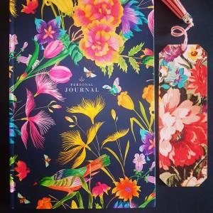 Zakładka do książki Kolorowe kwiaty