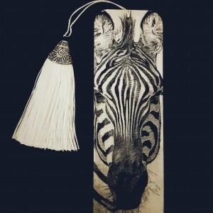 Zakładka do książki Zebra