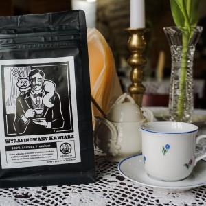 Kawa Wyrafinowany Kawiarz 2.0 100% arabika 250g ziarnista