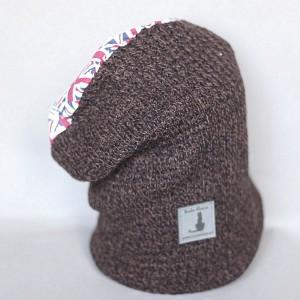 czapka handmade stopy umyte teraz czas na kobite! X1