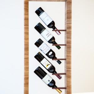 Stojak na wino Frame