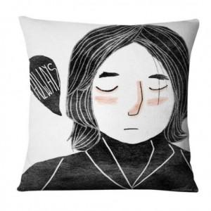 poszewka na poduszkę zamyslona