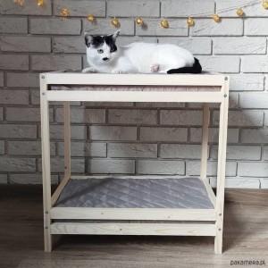 Piętrowe łóżeczko dla kota lub psa