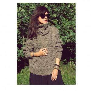 Sweter handmade merino exlusive