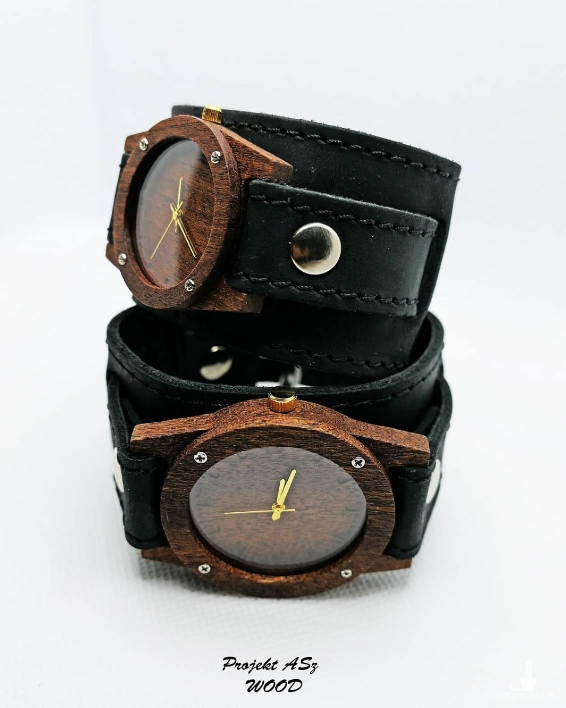 Zegarek drewniany męski Egzotyk
