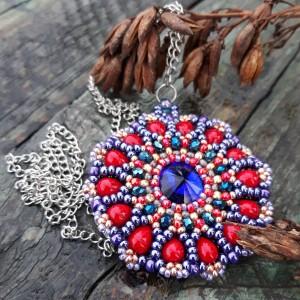 ,,koralowy medalion,,