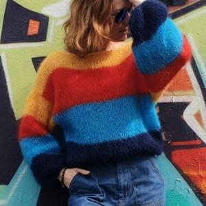 Sweter KOLOROWY PTAK