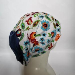 czapka wiosenna uniwersalna damska