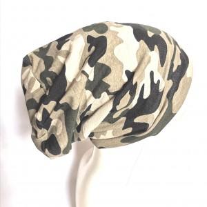 czapka wiosenna moro damska
