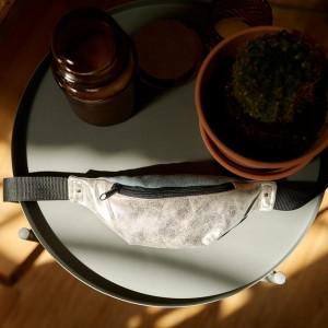 Srebrna nerka S z miętową klapą
