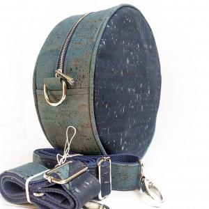 Bukłak srebrny - plecak, torba