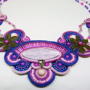 Violetas -  naszyjnik sutasz