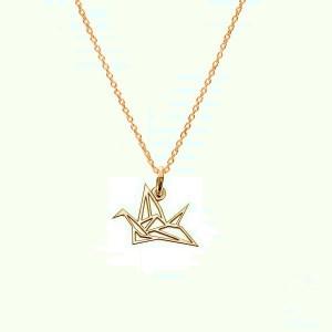 BIRD-srebro złocone