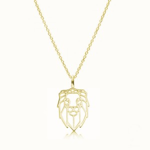 LION-srebro złocone
