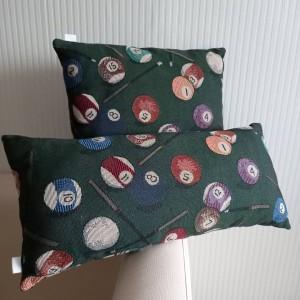 Poduszka w bilardowe kule