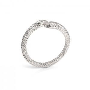 pierścionek WĄŻ- srebro 925