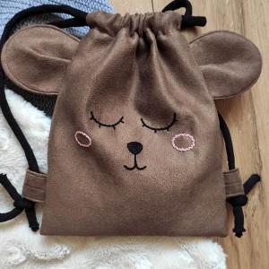Mini plecak dziecięcy miś