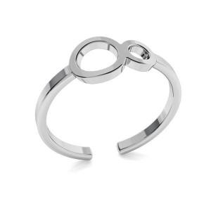 pierścionek NIESKOŃCZONOŚĆ- srebro