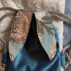 Mini plecak niebieski króliczek