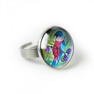 Figowy ptak pierścionek