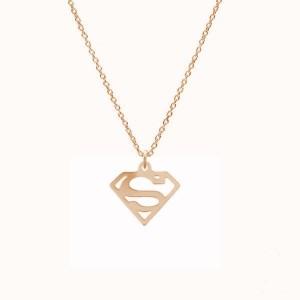 SUPERWOMAN-różowe złoto