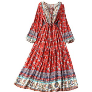 sukienka rozmiar m folkowa