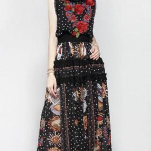 sukienka rozmiar s/ m w stylu fridy kahlo